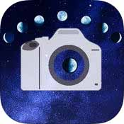 240円有料アプリ「月撮りカメラ」