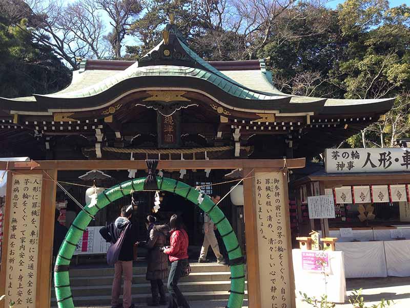 江ノ島神社が中間地点でさらに上に登ります