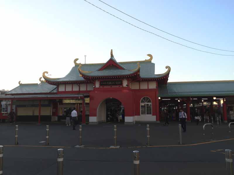 小田急片瀬江ノ島駅から