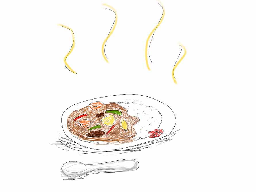 コワーキングスペースでカレーを食べると嫌われます!