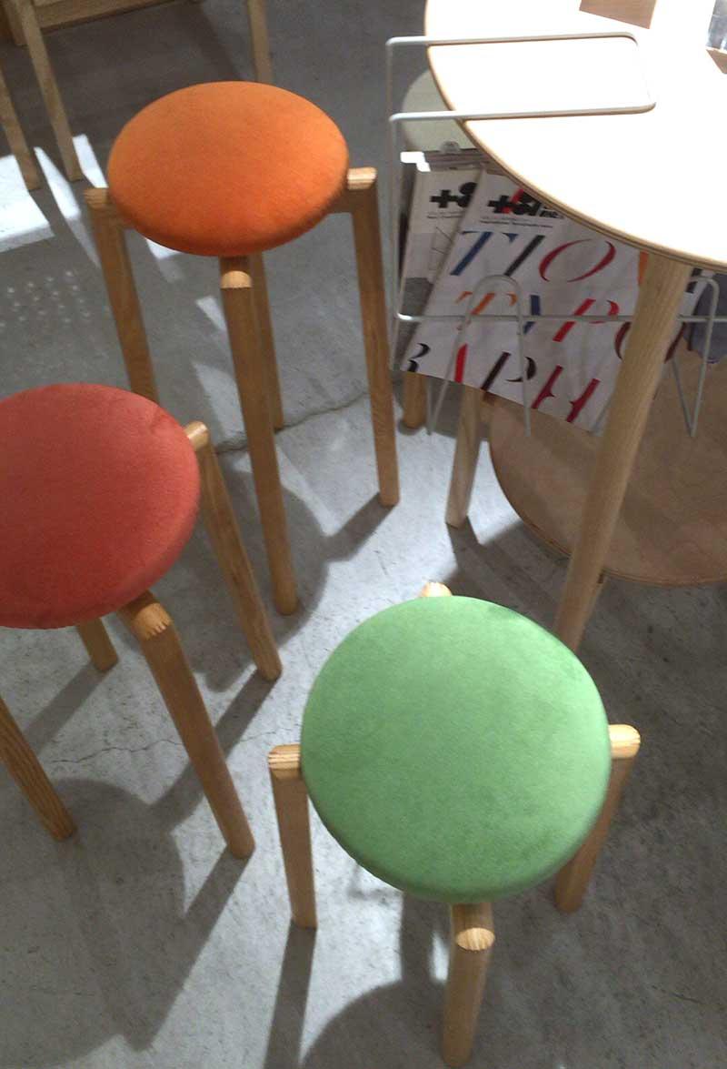 北欧系のかわいい椅子