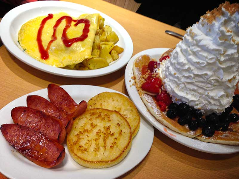 エッグスンシングスはパンケーキ以外も美味