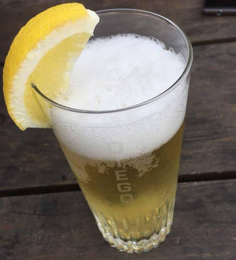ほんのり甘酢っぱいレモンビール