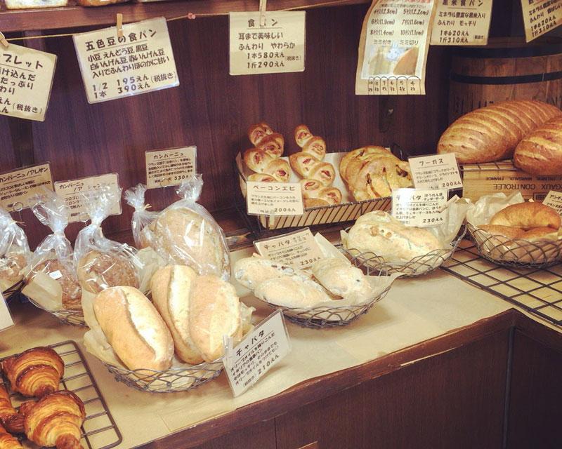 カンパーニュやチャパタなど毎日食べても飽きない主食パン