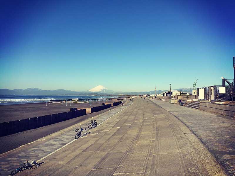 富士山も綺麗だー
