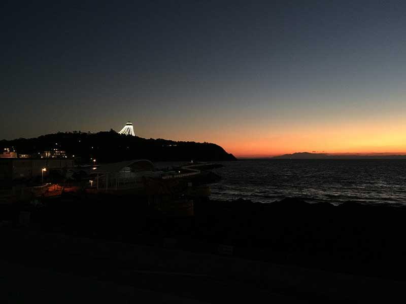 冬の江ノ島