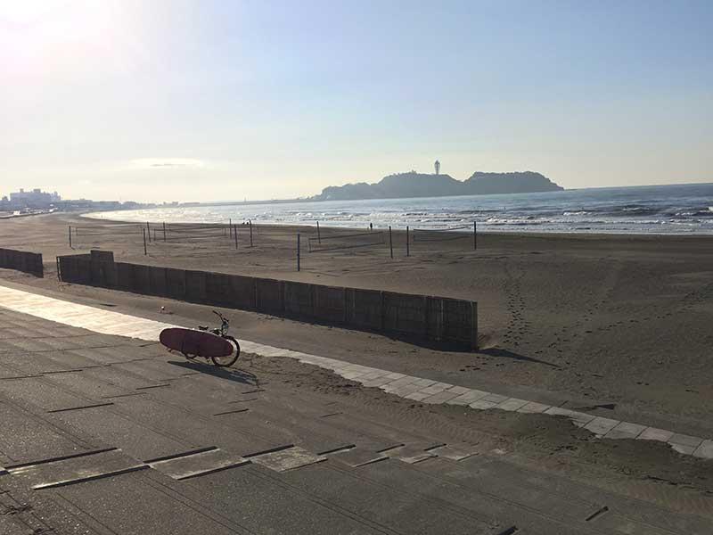 江ノ島もくっきり