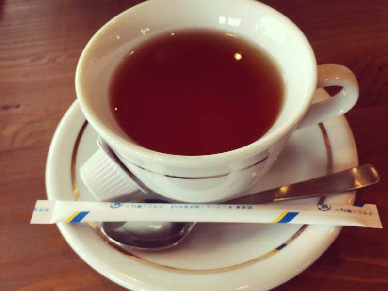 ホット一息の紅茶
