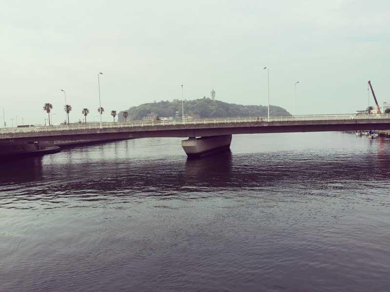 江ノ島が目の前