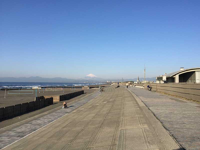 天気が良い日は富士山もくっきり