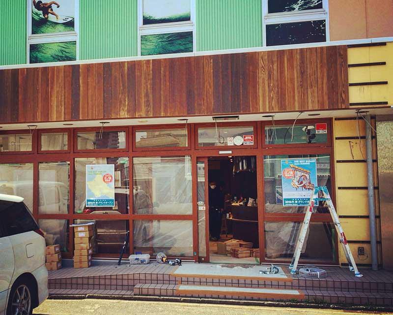 クアアイナ江ノ島店オープン間近