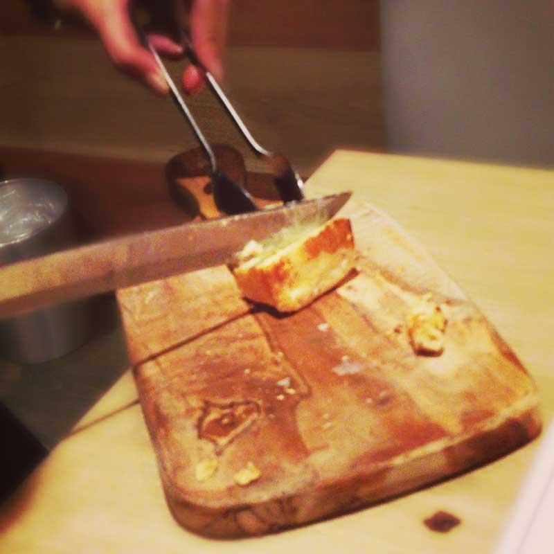 変わり種のチーズの串焼き