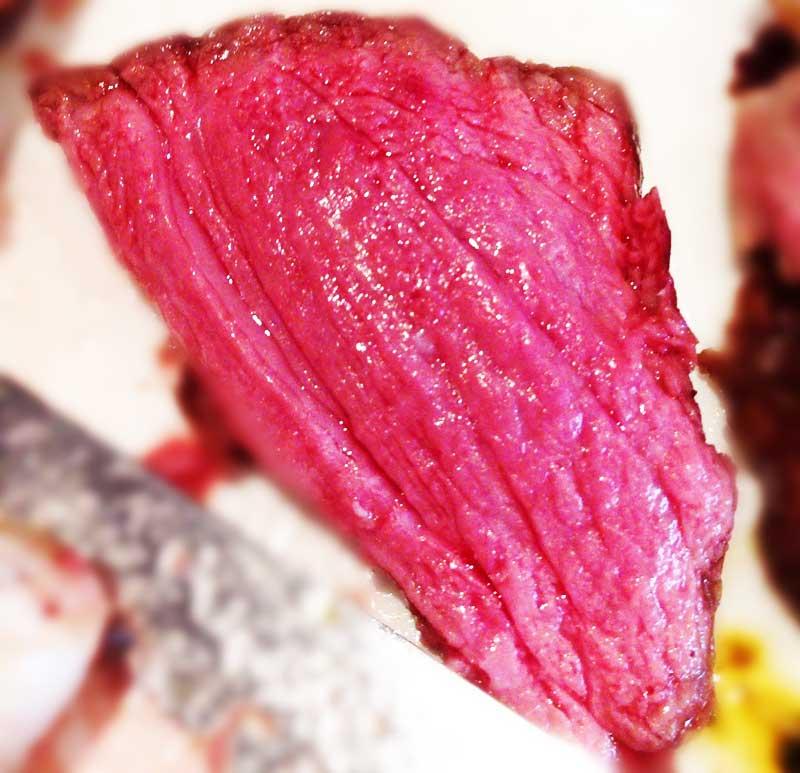 綺麗な赤身肉