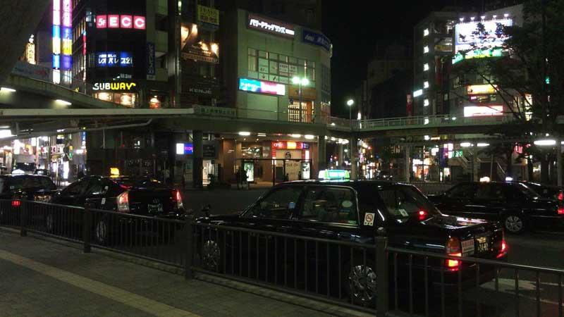 藤沢駅南口を出て