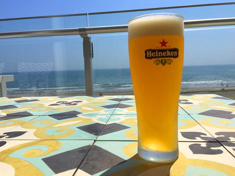 マンゴービールで乾杯!