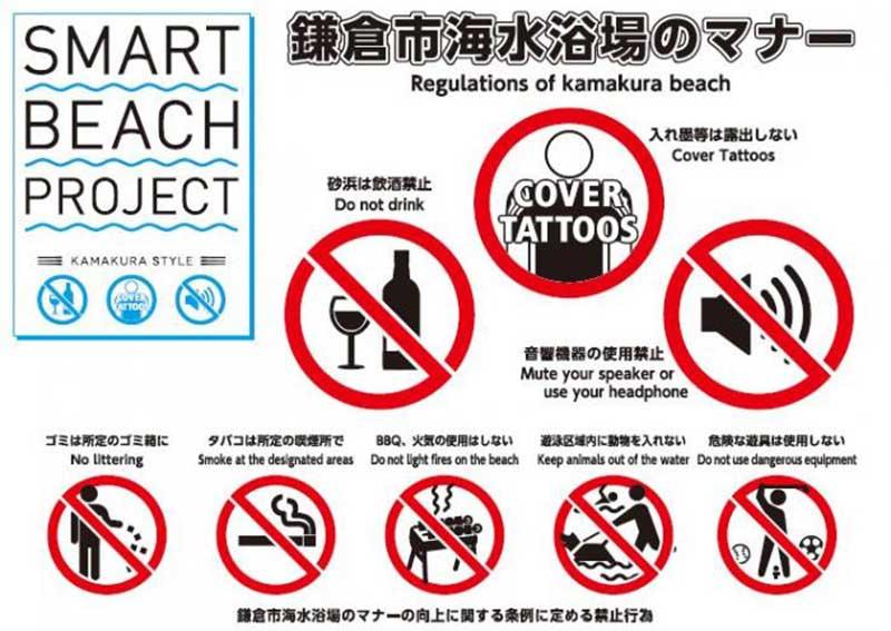 スマートビーチプロジェクト(鎌倉・逗子・葉山海水浴場マナーアップ推進協議会)