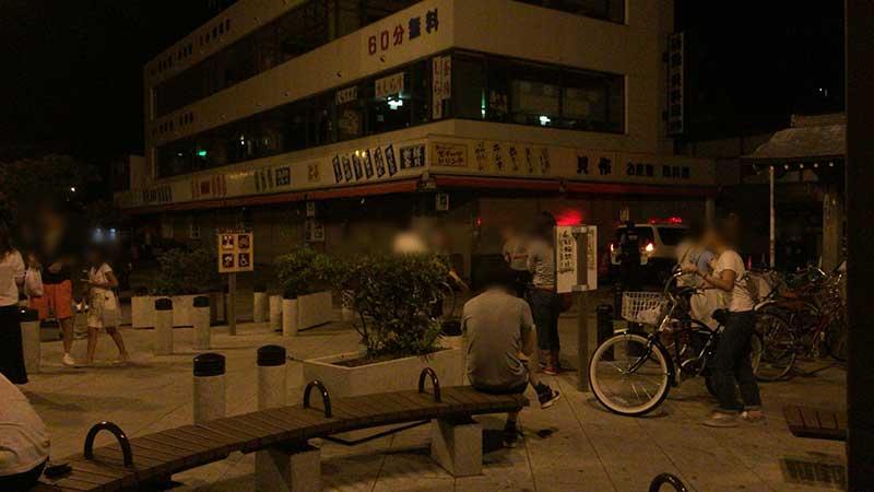 江ノ島はポケモンGOポケモン人気で深夜もこの賑わい