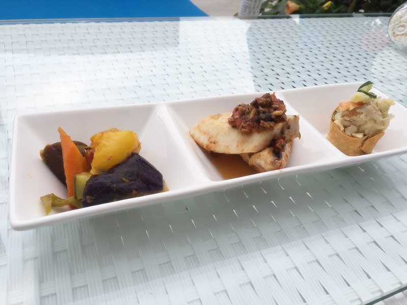 季節のお惣菜三種類