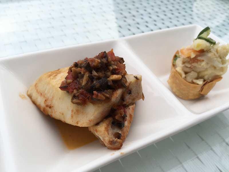 しっとり白身魚とポテトサラダのパリパリ巻き