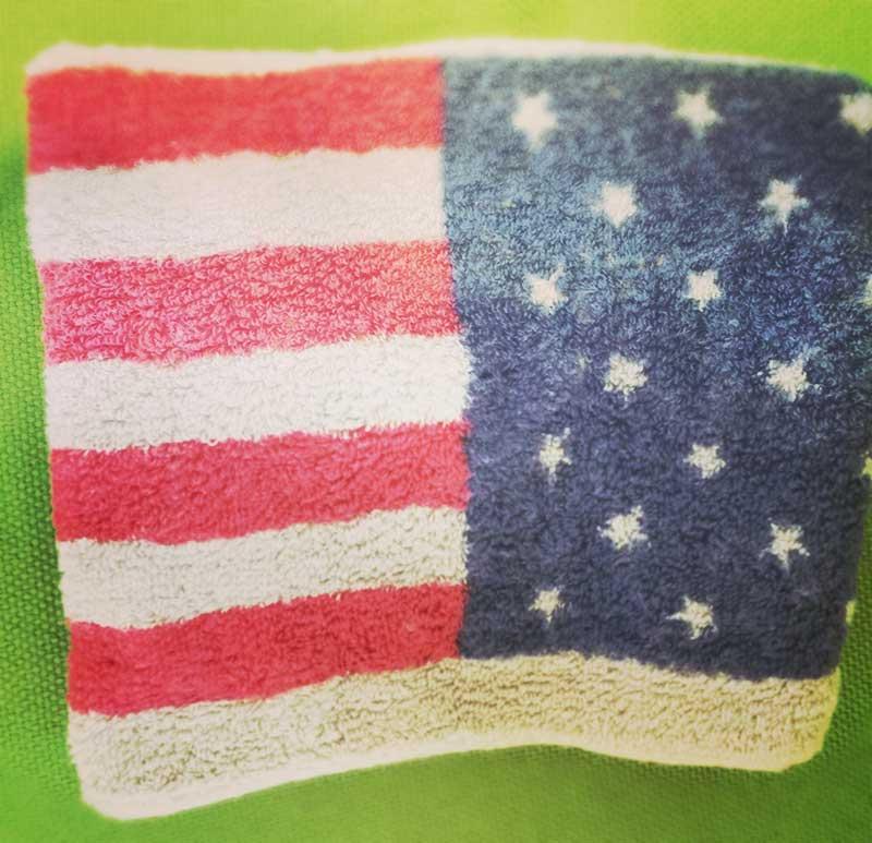 汗拭き・タオル回し用のタオル