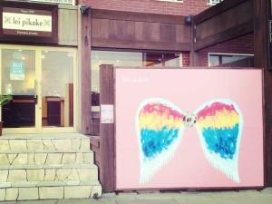 【江ノ島Instagram自撮りスポット】ハワイアンジュエリー「レイピカケ」天使の羽根の前で天使になろう!