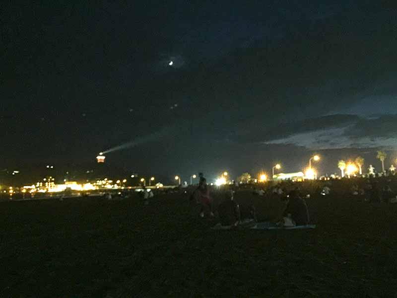 ガラ空きの東浜