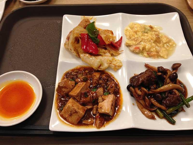 定番中華でまずは一皿