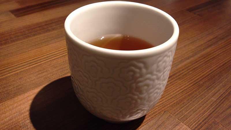 お茶も美味しくいただきました