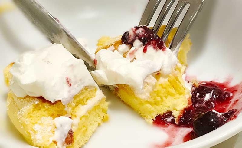「幸せのパンケーキ」は生地がとにかくおいし~