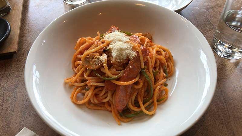 懐かしいナポリタンスパゲティ