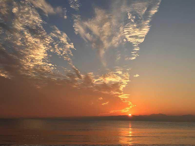 沈む夕日のかけら