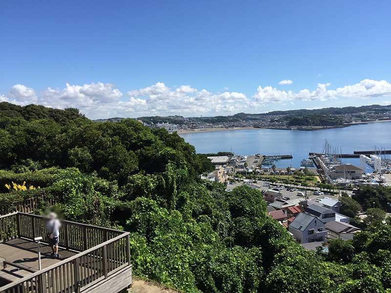 江ノ島は意外と標高あるんです