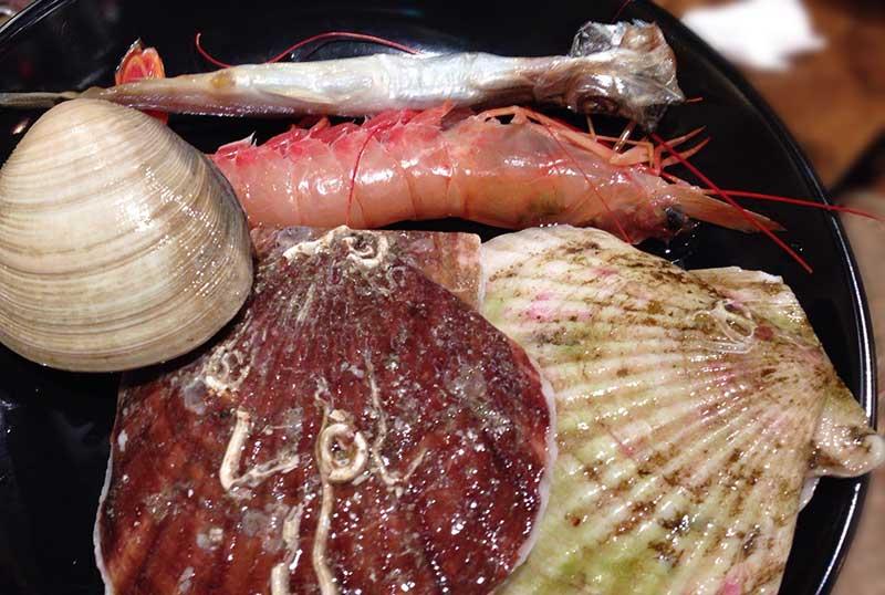 貝類もたっぷり