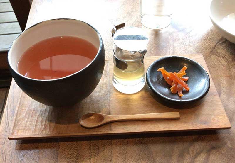 5つの味の「五味子茶」