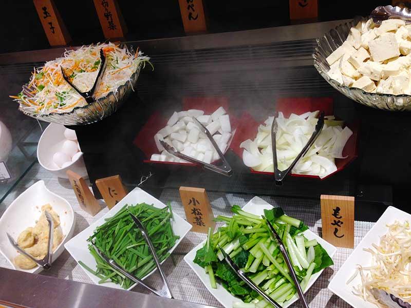 新鮮なお野菜の数々