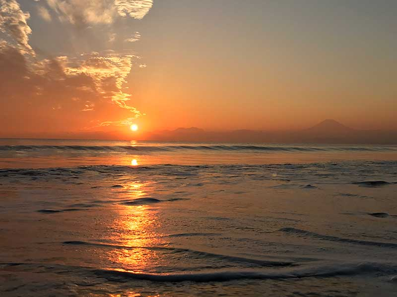 ああ日が沈んでいく