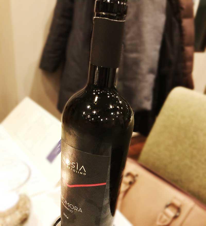 ワインをいただきます