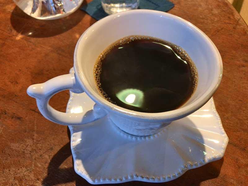 q熟成オールドビーンズのコーヒー