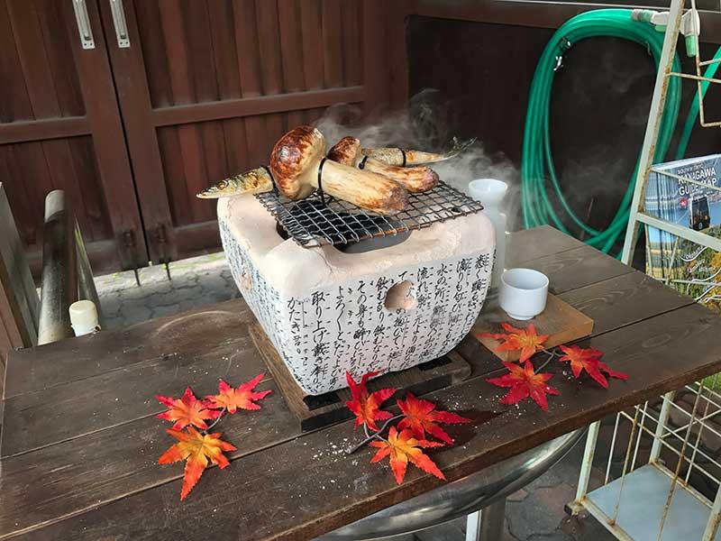 江ノ島駅の季節の展示物