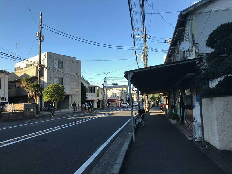 藤沢と江ノ島を結ぶ国道467号線
