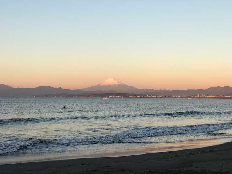 運が良ければ富士山も見られます