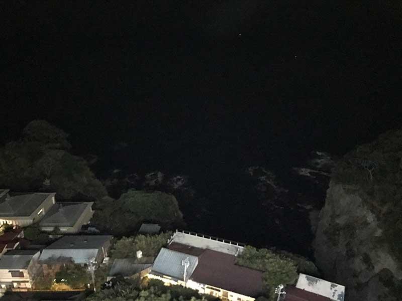 江ノ島を真上から眺めたのは初めてだ