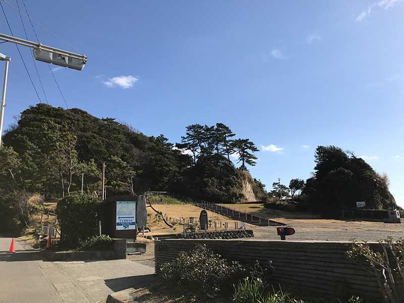 稲村ヶ崎の海浜公園