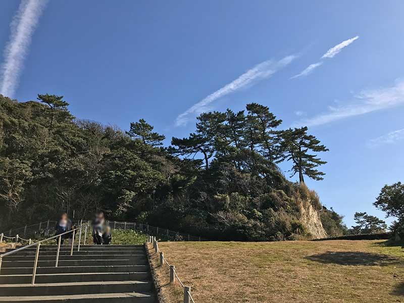 のどかな稲村ヶ崎公園
