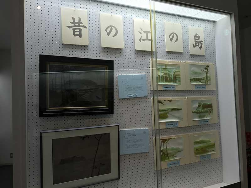昔の江ノ島の姿