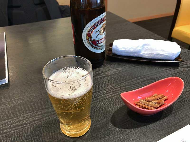 昼ビールいただきます