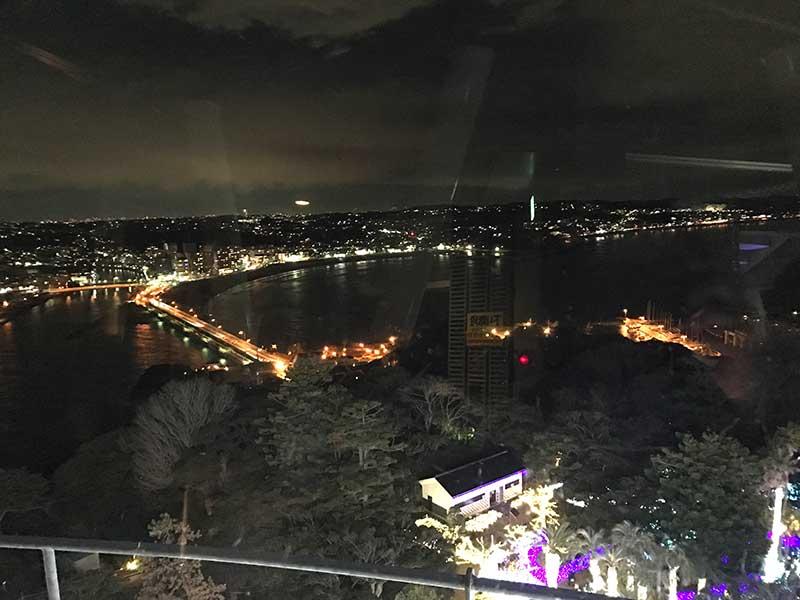 江ノ島大橋も綺麗に見えます