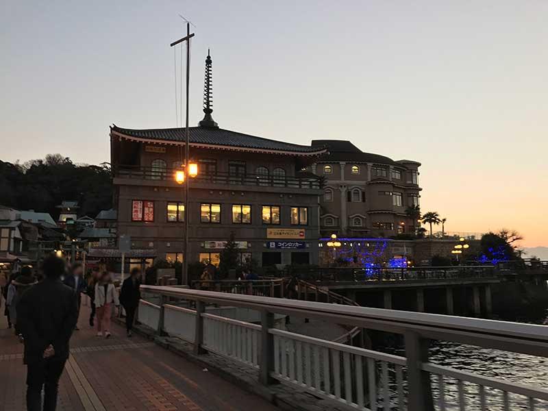 江ノ島の入口