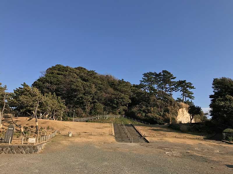稲村ヶ崎公園からスタート