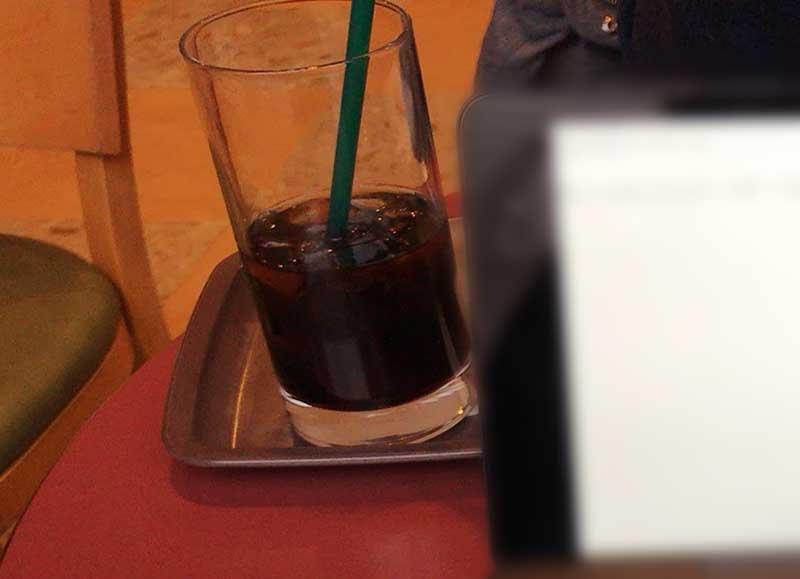 アイスコーヒー210円